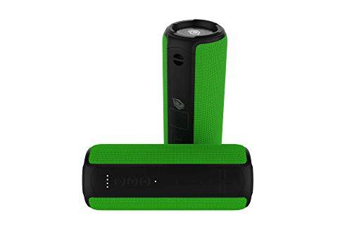 Monster Bukra V1 Bluetooth Lautsprecher Musikbox mit sattem 20 Watt Sound, Musik Box mit Speaker, Frequenz 100Hz-4kHz, Soundbox Wasserdicht und Outdoor geeignet, Bluetooth-Lautsprecher 500g