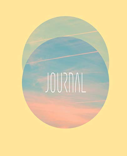 Journal: Pink and Blue Sunrise Sky