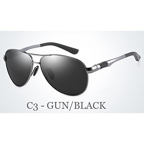 Gafas De Sol De Mujer, Gafas De Sol Clásicas Para Hombre Con Marco De Aleación De Aluminio, Patas De Resorte, Gafas De Sol Polarizadas Para Conducción Masculina, Gafas De Sol Oculos De Sol Para Dep