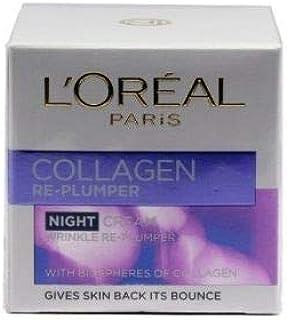 L'Oreal Paris Collagen Night Cream 50 ml, Pack of 1