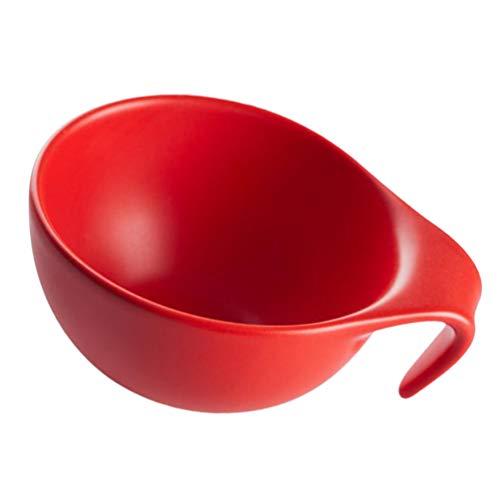 Cabilock Keramik Dip Schalen Sauce Gerichte Gewürz Gerichte Servieren Gerichte Gewürz Schüssel Sushi Soja Gerichte für Snack Sushi Obst Vorspeise Dessert Zufällige Farbe