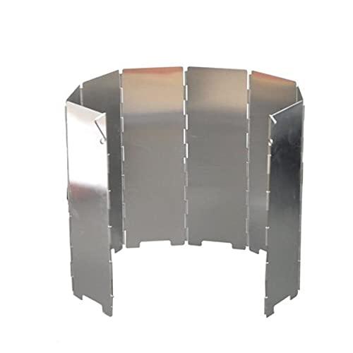 Paravientos de aluminio plegable con sistema Plug