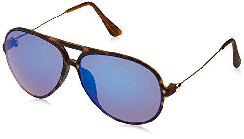 JACK & JONES Herren JJACJONES SUNGLASSES Sonnenbrille, Mehrfarbig (Brownie Detail:J5098-00), One Size