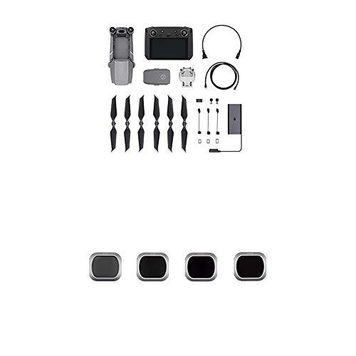 DJI Mavic 2 Pro Drone y Smart Controller, Drone con Cámara Hasselblad L1D-20c + Juego de Filtros Pro ND 4/8/16/32