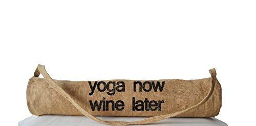 Kundenspezifische Yoga Mat Bag–leicht beige tan Yoga Tragetaschen–Yoga Zubehör–Yoga...