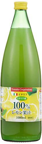 トマトコーポレーションレモン果汁100%濃縮還元(イタリア産)1L ×6本