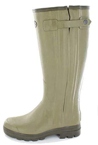Le Chameau Chasseur Mens Wellington Boot UK7 EU41 US8 Vert Vierzon 41 Calf