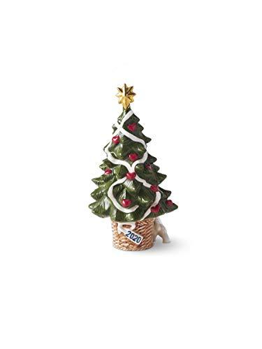 Royal Copenhagen 2020 - Statuetta Decorativa a Forma di Albero di Natale Collectibles