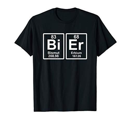 Bier Periodensystem T-Shirt