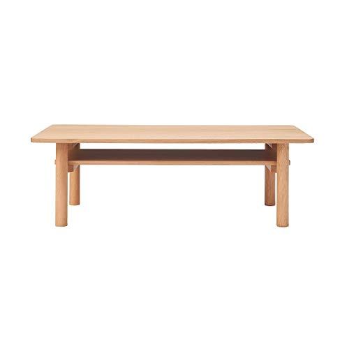 無印良品 木製ローテーブル・オーク材 幅110×奥行55×高さ35cm 82219166