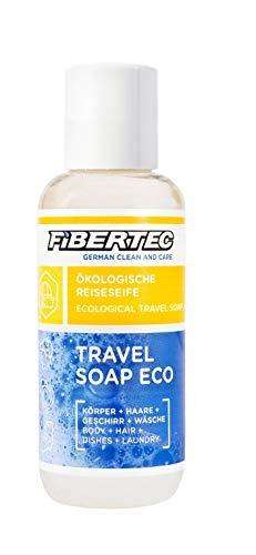 Fibertec Travel Soap Eco 100ml | Reiseseife | Alles-und-überall Seife | Outdoor Shampoo| handgepäcktaugliche Größe