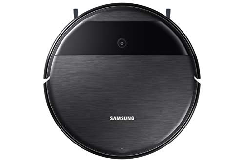 Samsung VR05R5050WK/ET Robot 2 en 1 aspirateur et Lave, Moteur BLDC 5 W, Wi-FI programmable à Distance, 3400 mAh, 34 x 8,5 x 34 cm, Noir