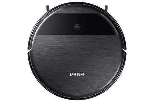 Samsung VR05R5050WK/ET 2-in-1 Staubsauger und Lava, Motor BLDC 5 W, WiFi, ferngesteuert 34 x 8,5 x 34 cm, Schwarz