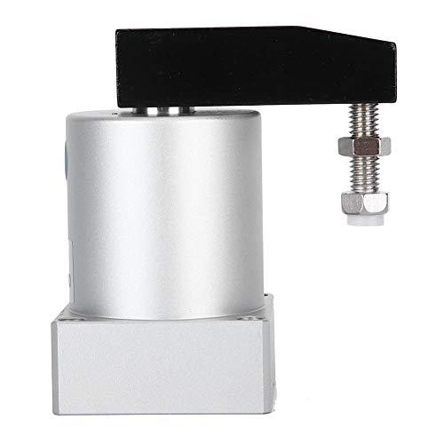 AMONIDA Cilindro neumático ACK50, Cilindro de sujeción Giratorio de Mano de Obra Exquisita ecológica Duradera, para Uso Industrial en el hogar(ACK50-90R)