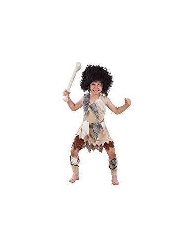 DISBACANAL Disfraz de troglodita para niño - -, 10 años