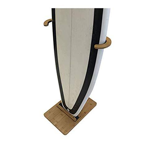 Supporto in Bamboo per tavole da surf COR Surf - per mettere in mostra le tue tavole con stile