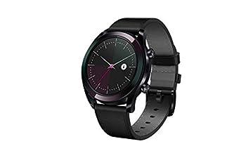 Huawei Watch GT 2019 ELA-B19  42mm  BT Version Water Proof Fluoroelastomer Black Band Elegant