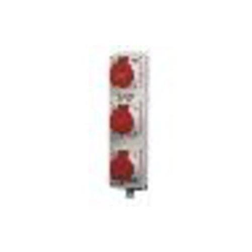 Mennekes Steckdosenleiste TL 96705 3xCEE16A,5p,m.Klemme TL CEE-Steckdosen-Kombination 4015394092445