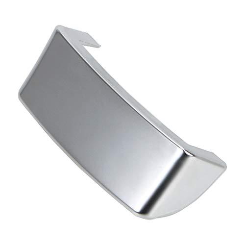 NOPNOG Auto-Lenkrad-Trimm-Paillettenabdeckung, Einsatz-Trimmabdeckung, Chrom-Emblem, für VW Golf MK5 Plus 5 GTI Passat B6 3C EOS Jetta