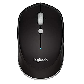 Logitech M535 Bluetooth Mouse Compact Wireless Mouse with 10 Month Battery Life Works with Any Bluetooth Enabled Computer Laptop or Tablet Running Windows Mac OS Chrome or Android Gray - Black