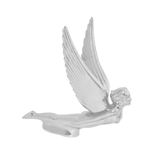 GG Grand General 48110 Chrome Flying Goddess Hood Ornament
