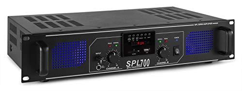 Skytec SPL 700MP3 2.0canali Casa Cablato Nero amplificatore audio