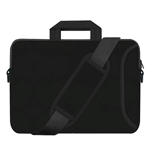 17 Inch Laptop Case Sleeve, HESTECH Briefcase Computer Bag with Organizer Pocket, Carrying Handle Shoulder Strap Compatible for 16-17.3 HP Samsung Lenovo Dell ASUS