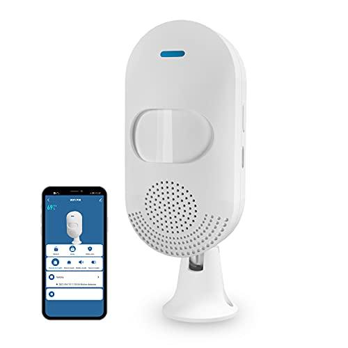 WiFi Smart Motion Sensor Alarm Feelink Indoor Infrared PIR Detector Siren Tuya Smart APP Control...