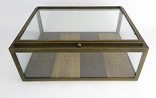 Clever Deko - Vitrina de cristal francesa, vitrina de