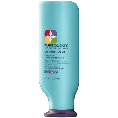 Pureology Strength Cure Strengthening Conditioner | For Damaged, Color Treated Hair |...