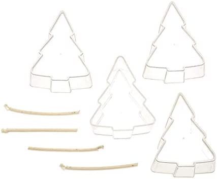 bunt hitzebest/ändig bis zu 140 /°C Glorex 6 9732 080 Kerzen-Gie/ßform f/ür Teelichter in Sternform one size 3 Formen je 5,5 x 5,5 x 2,5 cm gro/ß mit Docht aus Polycarbonat