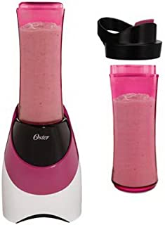 Oster My Blend Blender 20 Oz. Plastic Pink, White