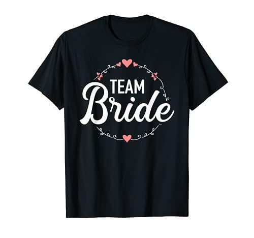 La despedida de soltera del equipo de la novia Camiseta