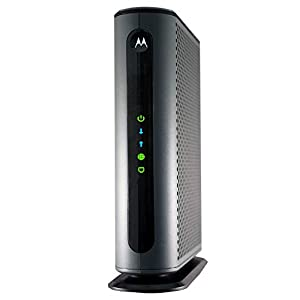 MOTOROLA MB8600 DOCSIS 3.1 Cable Modem, 6 Gbps Max Speed. Approved for Comcast Xfinity Gigabit, Cox Gigablast, and More