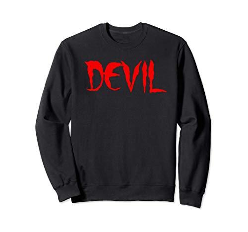 Devil Diablo Diavolo Felpa