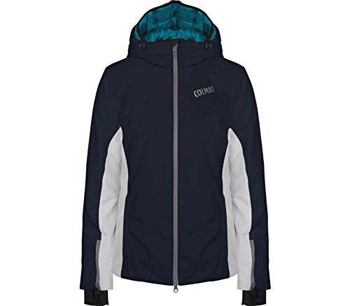 Colmar Damen Aspen Ski Jacket Jacke, Blau (Blue Black), 44