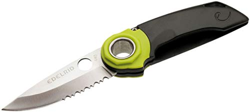 Edelrid Messer Ropetooth Single Hand Knife, night-oasis, One Size, 734700000000