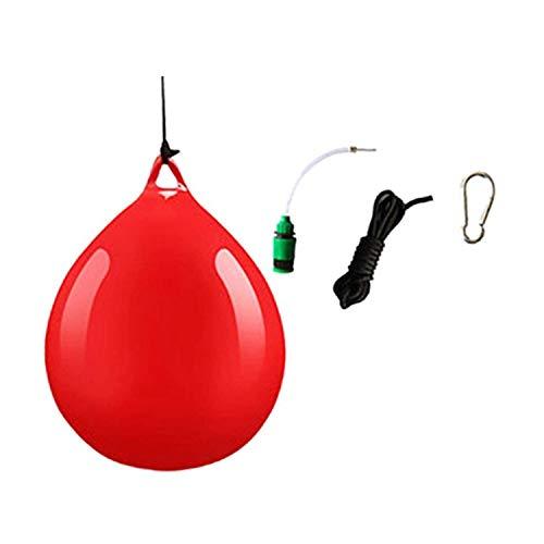 Nrpfell 2 StüCke Wasser Schwere Tasche mit Wasserinjektor Haken Schlinge Schwere Tasche Wasser Boxsack für Haushalt H?Ngenden Boxen