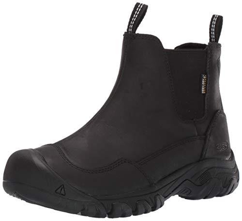 KEEN Women's Hoodoo III Chelsea WP Boot, Black, 8.5 M US