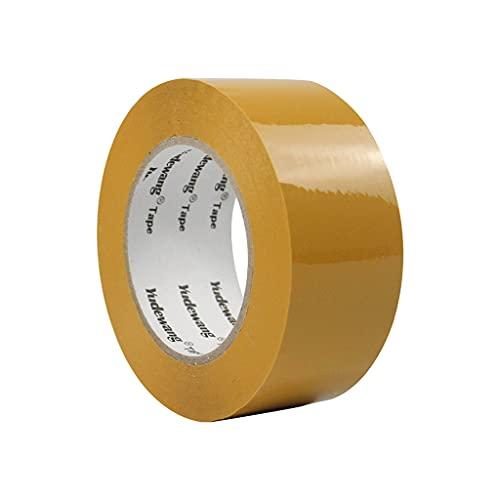 BFSHY 6 Paquete De Cinta De Embalaje Reforzado, 1.8 INX 164YDS, Cinta De Fleticatura Reforzada De Filamento Amarillo para Embalaje De Trabajo Pesado