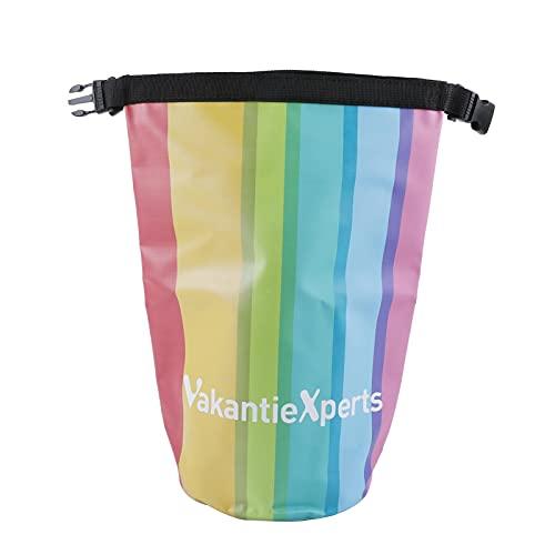 sfadf Bolsas impermeables, bolsa seca, bolsa impermeable, impermeable, bolsa seca, bolsa seca, bolsa seca, bolsa de 5 litros, mochila con un hombro, para exteriores, impermeable, malla de PVC 500D.