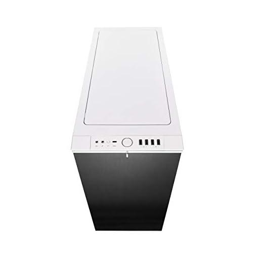 Fractal Design Define R6 USB-C Escritorio Blanco - Caja de ordenador (Escritorio, PC, Aluminio, Acero, Blanco, ATX,EATX… 2