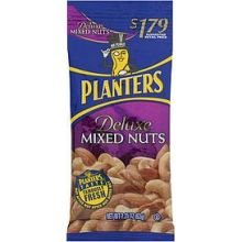 Planters Deluxe Mixed Nut, 2.25 Ounce -- 72 per case.