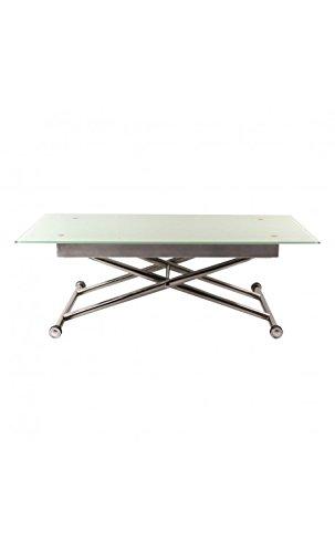 CAMINO A CASA - Table Basse Blanche modulable Adeva