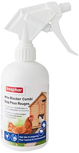 BEAPHAR – Spray stop poux rouges pour l'animal et...