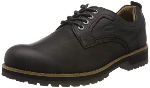 camel active Herren Adventure 16 Derbys, Schwarz (Black 3), 46 EU