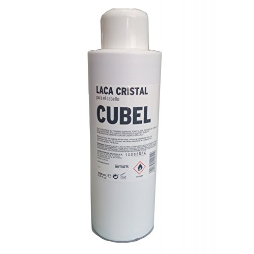 NELLY Laca CUBEL-Cristal 1000ML, Negro, Estandar