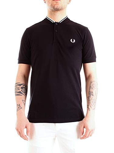 Fred Perry Bomber Collar Polo Shirt, Polo - L