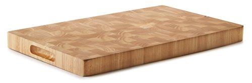 Lacor - 60485 - Tabla Corte Rubber Wood 533x328x40 mm