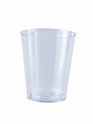 Solia Bu20200 Pot Cristal Mini Cup, capacité de 48,2 gram, 1–51/162,6 cm de diamètre x 5,1 cm de hauteur, Clear (cas de 1000)